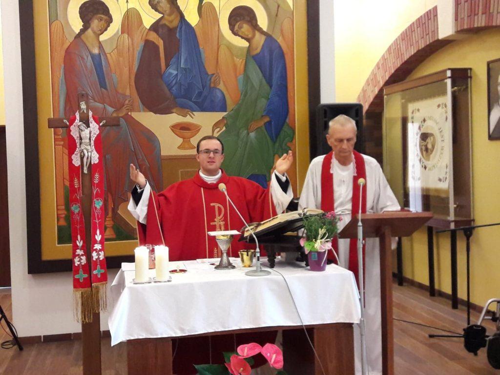9 czerwca Błogosławieństwo Prymicyjne Ks. Doriana Figołuszka