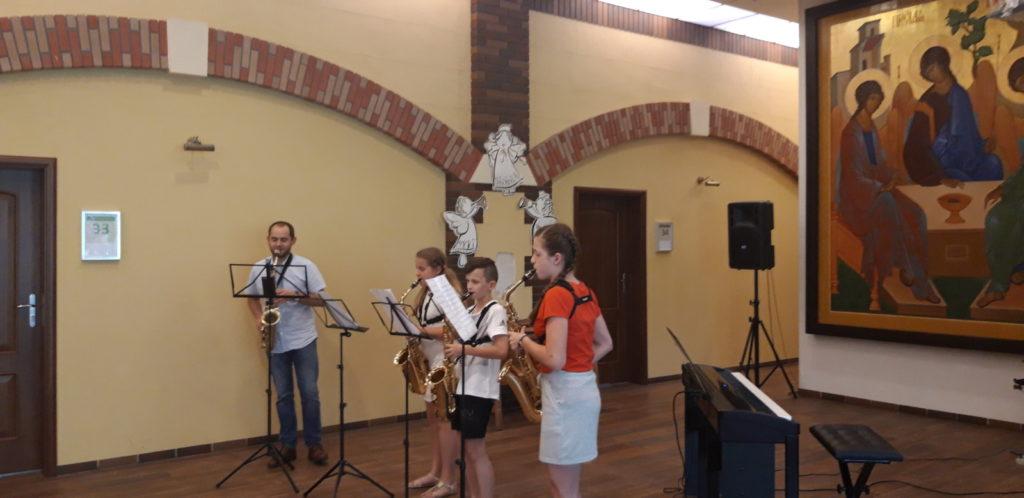 11-06-2019 Koncert w wykonaniu Uczniów Zespołu Szkół Muzycznych im Michała Spisaka w Dąbrowie Górniczej