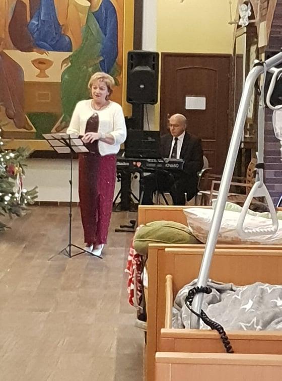 19.12.2019 Kolędy Polskie i Świata w wykonaniu Pani, Lucyny Wurzel