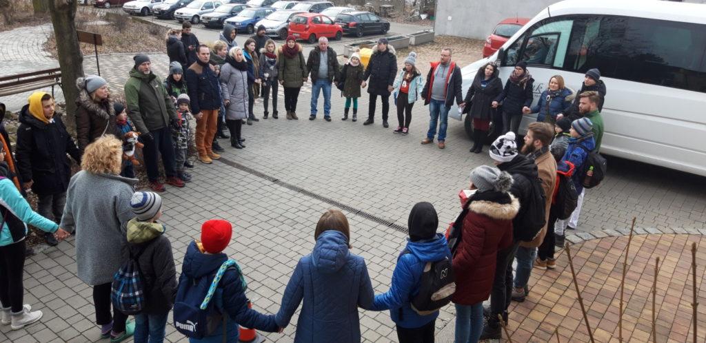 13-01-2020 r wyjazd Dzieci objętych opieką Hospicjum Cordis na Ferie Zimowe