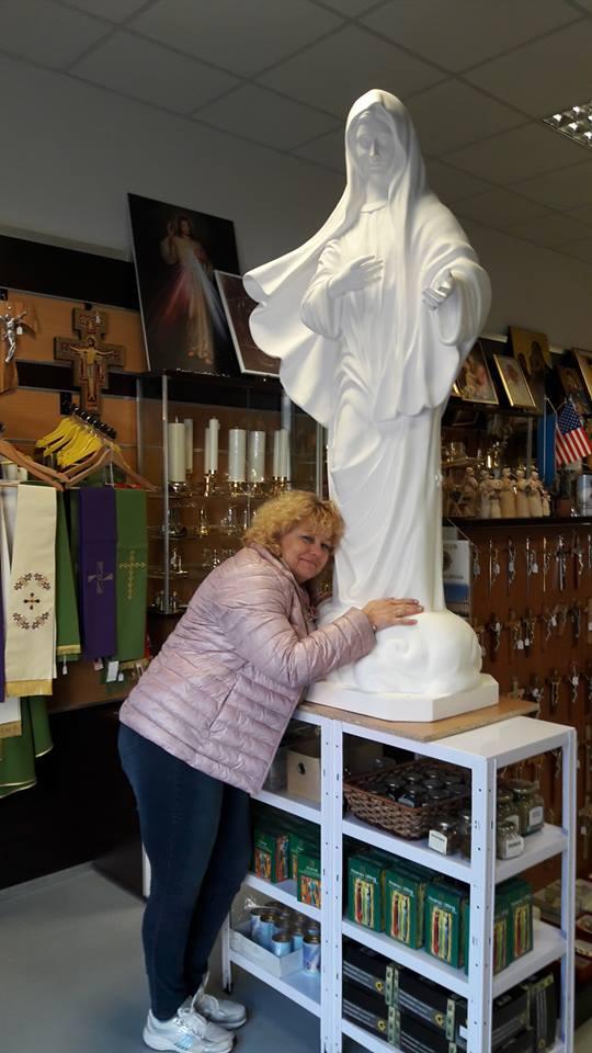 Figura Matki Boskiej z Medjugorie w Hospicjum Cordis!