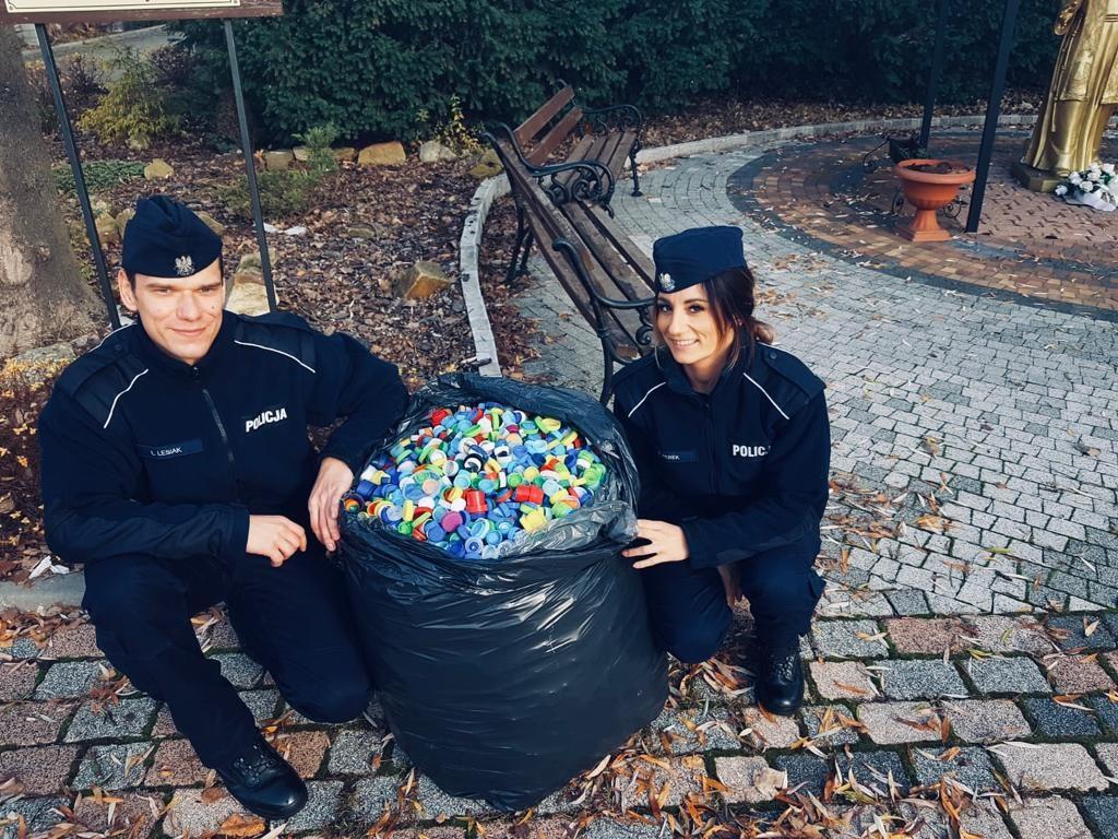 20-11-2019 Szkoła Policji w Katowicach w wizytą w   Hospicjum Cordis