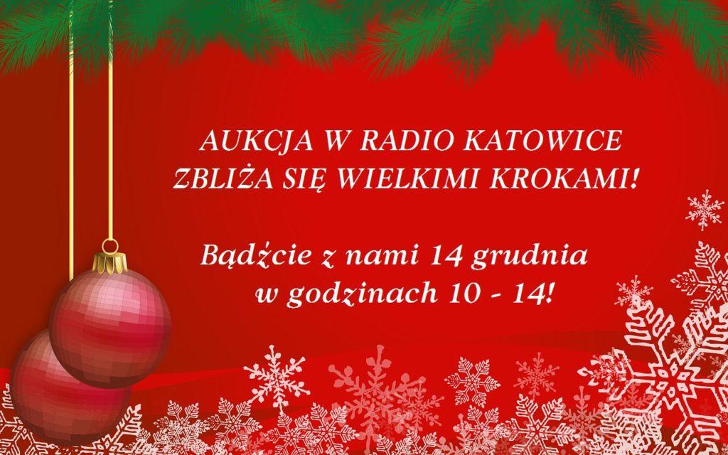 14-12-2019  Świąteczna Aukcja w Radio Katowice