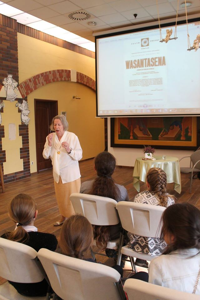Spotkanie z Panią Anną Lutosławską