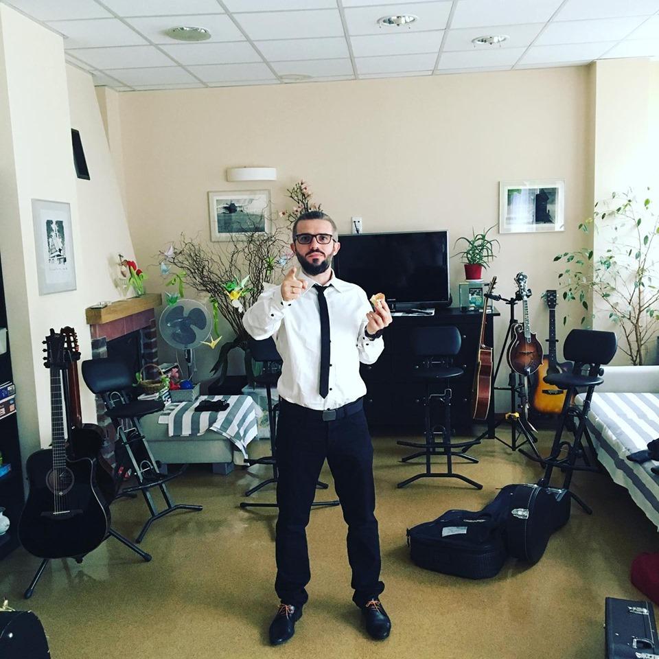 """Zespół """"Albo i Nie""""  w Hospicyjnej Świetlicy"""