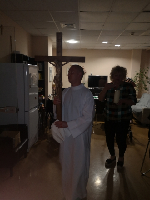 Grób Pański w Hospicjum Cordis