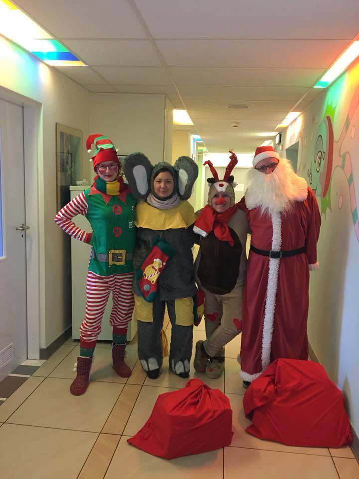 Ekipa Świętego Mikołaja :-)